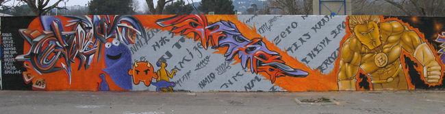 Big Walls By Oneteas - Aix (France)