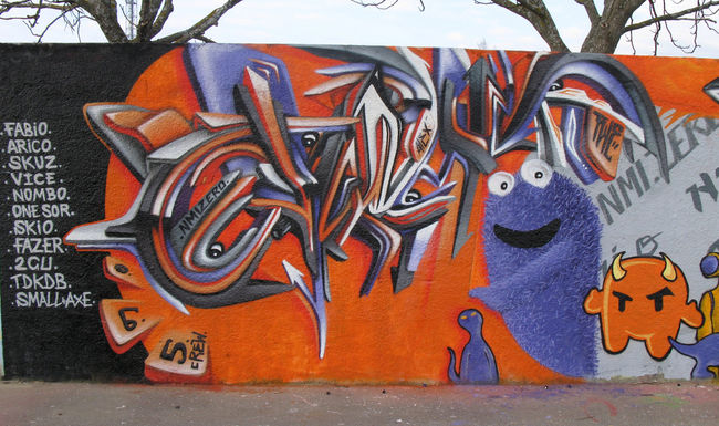Big Walls By Oneteas - Aix (France)