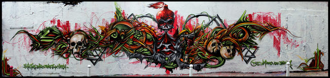 Big Walls By Defco, Reiz, Oneteas, Rash, Skio - Paris (France)