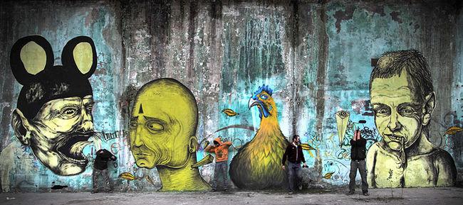 Fresques Par Sea, James Kalinda, Fresh, Centina - Milan (Italie)