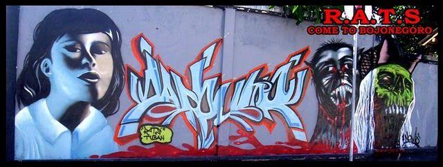 Fresques Par Rats Cru - Tuban (Indonesie)