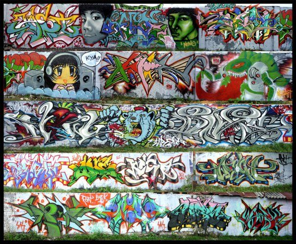 Street Art Par Rats Cru - Tuban (Indonesie)