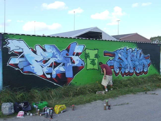 Big Walls By Peos - Dunkirk (France)