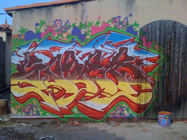 Big Walls By Imer - Aix (France)