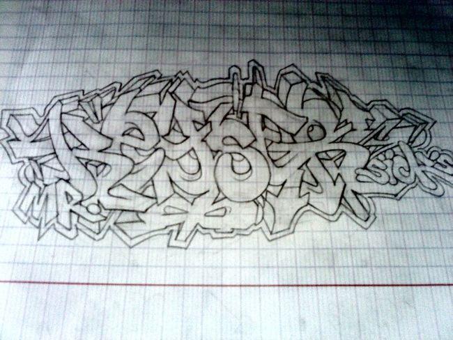 Sketch Par Seykone - Montpellier (France)