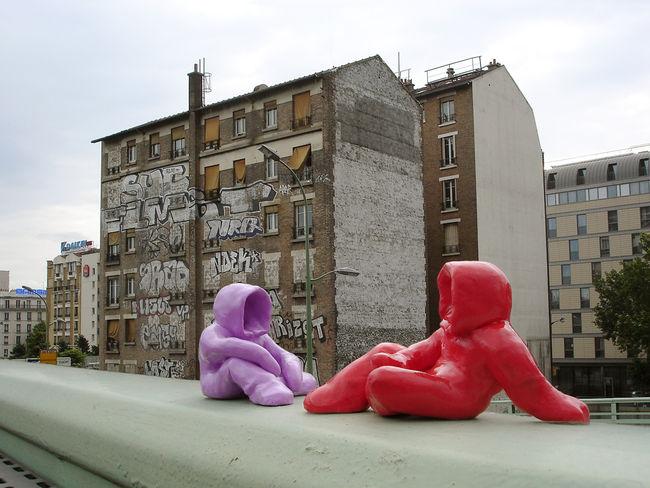 Street Art Par Little K - Paris (France)