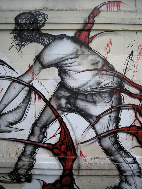 Characters By David Choe - London (United Kingdom)