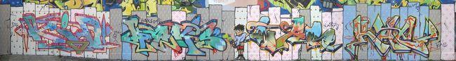 Fresques Par Kae One, Kae - Fulda (Allemagne)