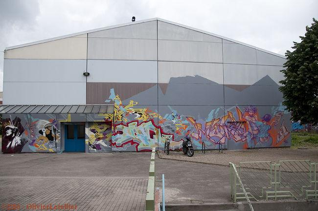 Fresques Par Mode2, Jayone - Nancy (France)