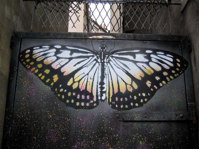 Street Art By Nick Walker - Bristol (United Kingdom)