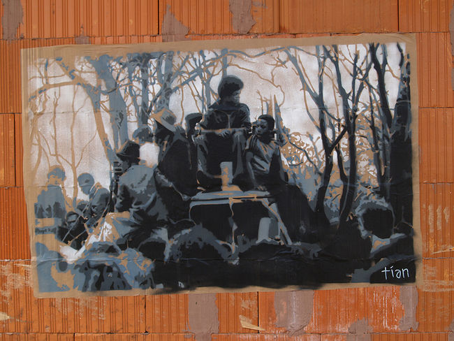 Street Art Par Tian - Le Mans (France)