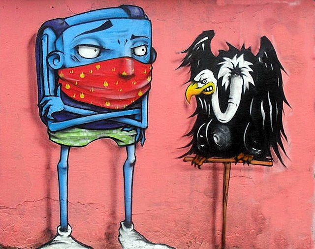 Personnages Par Ignoto - Sao Paulo (Bresil)