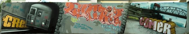 Characters By Comer, Crey132, Max132, Lacriz - Cergy (France)