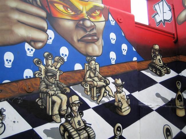 Fresques Par Odisy, Aroe - Brighton (Royaume Uni)