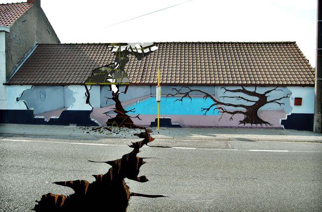 Street Art Par Marc Salve - Ittre (Belgique)