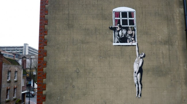 Street Art By Banksy - Bristol (United Kingdom)