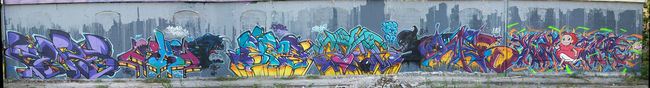 Fresques Par Gamer, Bros, Neur, Soke, Kryz - Bordeaux (France)