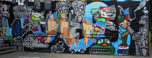 Piece By Bustart - Basel-City (Switzerland)