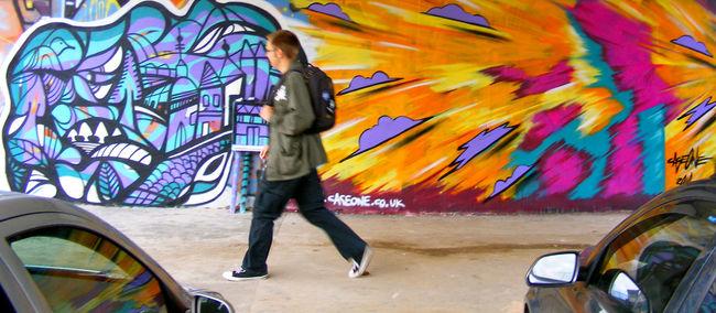 Street Art By Cageone, Sian Shipley - Prague (Czech Republic)