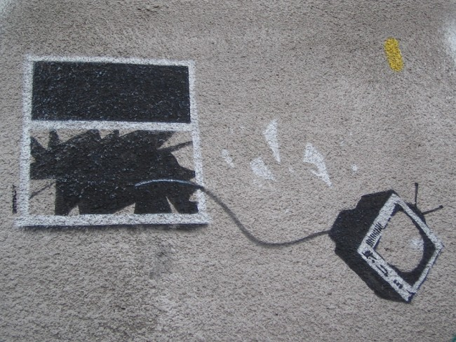Street Art By Banksy - London (United Kingdom)