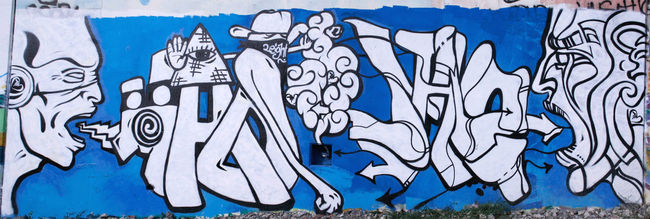 Fresques Par Madmag - Geneve (Suisse)