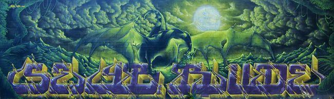 Fresques Par Seyb, Rude - Montreuil (France)
