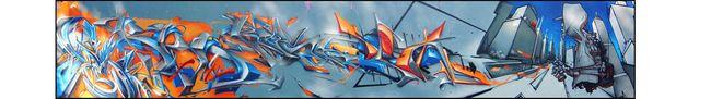 Fresques Par Resh, Stack, Dens, Red, Yearz - Ivry-sur-Seine (France)