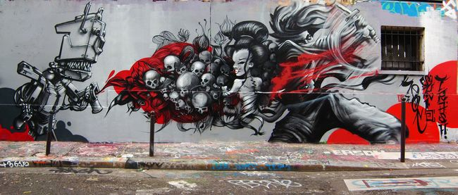 Big Walls By Skio, Trash - Paris (France)