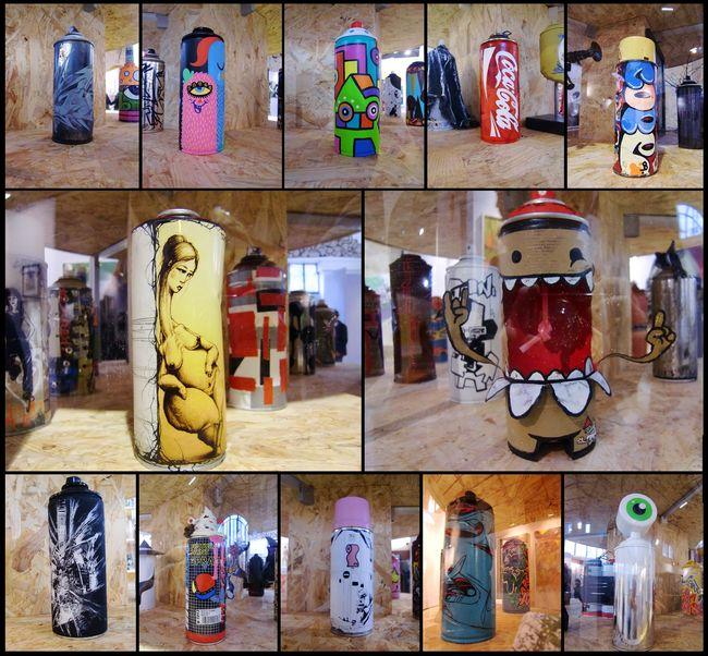 Street Art Par Cope2, Cyclops, Astro, Bue, Seize Happywallmaker, Seth2 - Paris (France)