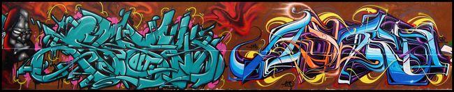 Big Walls By Skey, Astro, Ozer - Paris (France)