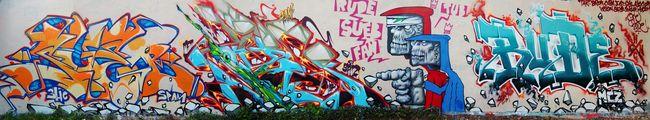 Fresques Par Sueb, Rude, Tube, Fan - Ivry-sur-Seine (France)