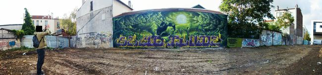 Fresques Par Seyb, Rude - Montreuil (France)