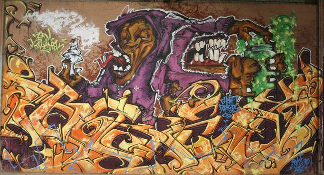 Piece By Zerm, Gheto, Remsamneist - Vannes (France)