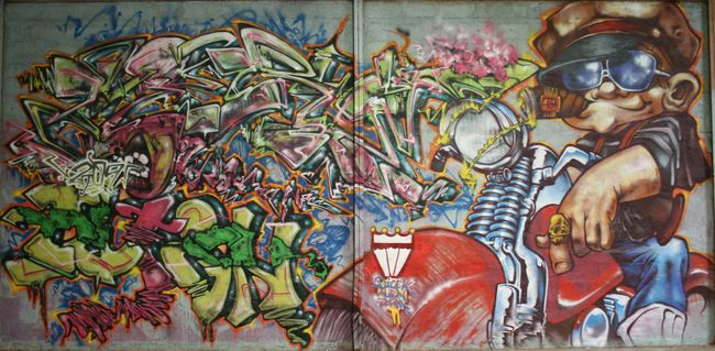 Big Walls By Zerm, Alien, Dicek - Vannes (France)