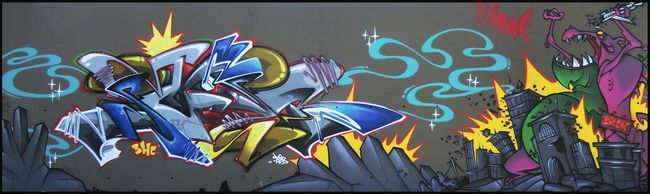 Big Walls By Brok, Sueb - Ivry-sur-Seine (France)