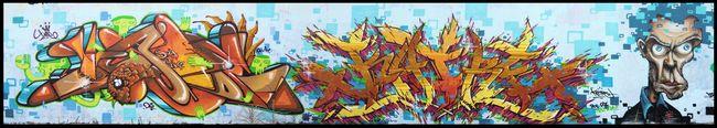 Big Walls By Katre, Jade Uno - Ivry-sur-Seine (France)