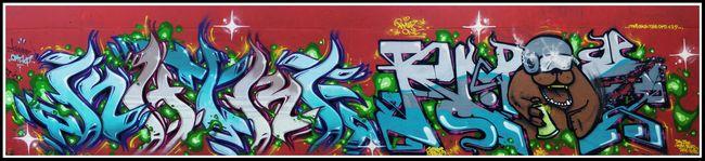 Fresques Par Katre, Rmax - Paris (France)