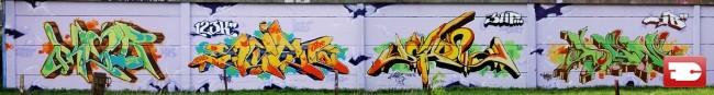 Big Walls By Klor, Scien, Dean - Dunkirk (France)