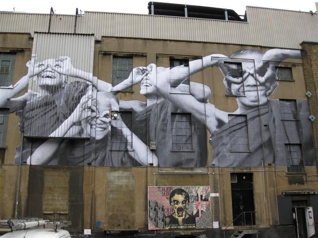 Street Art By Jr - London (United Kingdom)