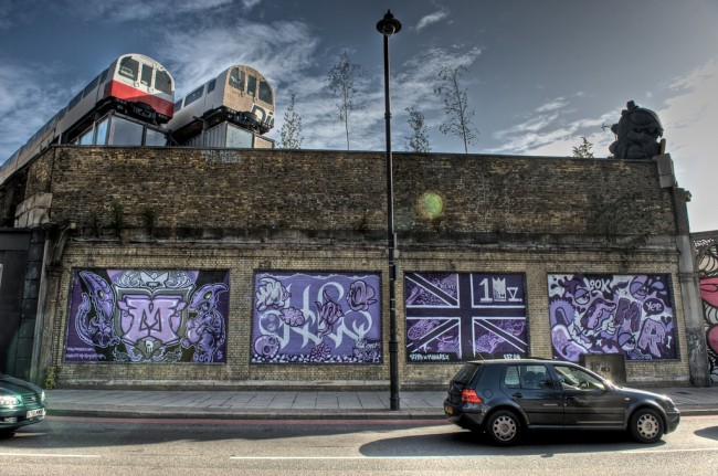 Street Art Par Monorex - Londres (Royaume Uni)