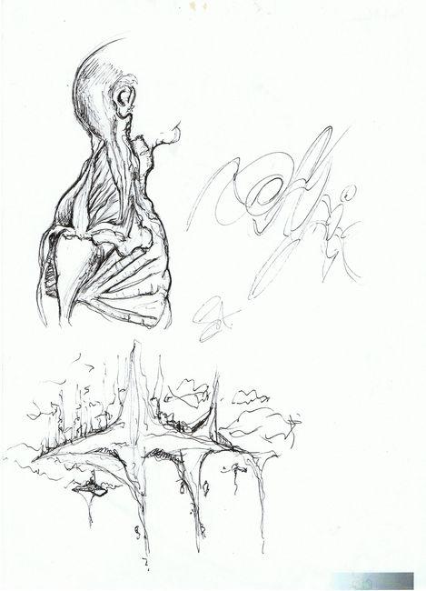 Sketch Par Hallaert Stijn - Bruges (Belgique)