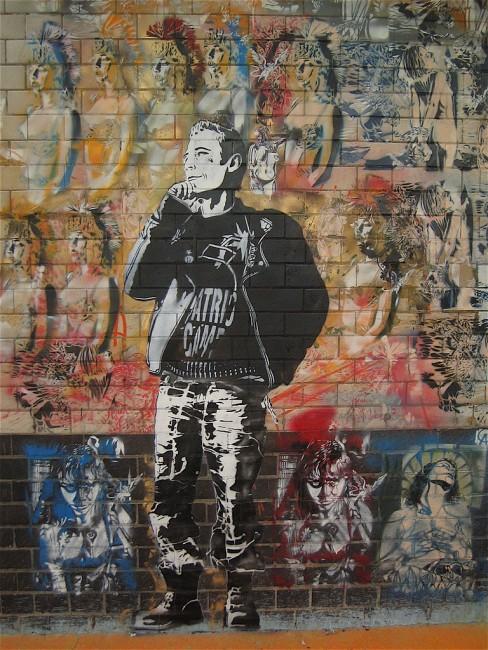 Street Art By Artiste Ouvrier, Dan - London (United Kingdom)