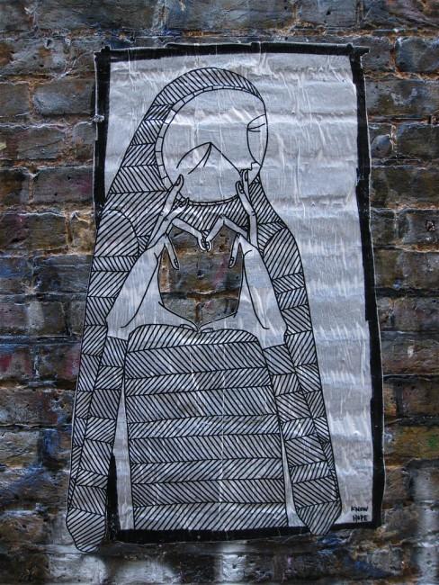 Street Art By Know Hope - New York City (NY)
