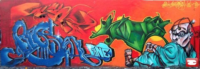 Fresques Par Asty, Gest, Orsay, Auson - Toulon (France)