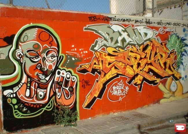 Big Walls By Bandi, Sbyr, Choll - Barcelona (Spain)