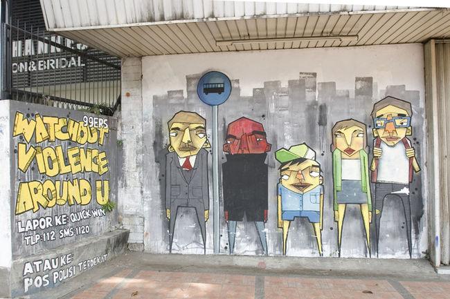 Personnages Par Stereoflow - Bandung (Indonesie)
