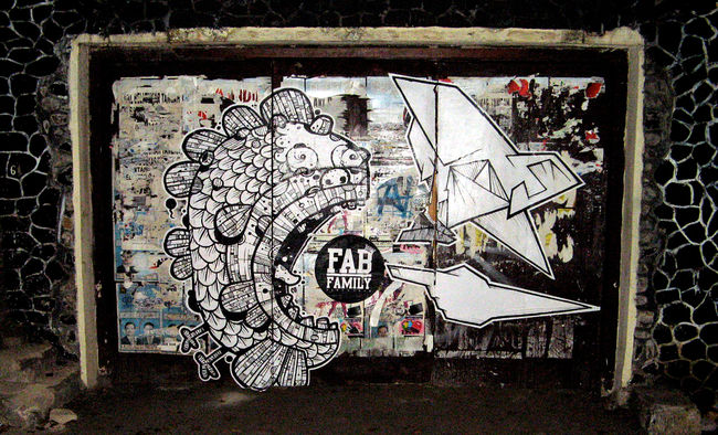 Street Art Par Stereoflow, Astronautboys - Bandung (Indonesie)