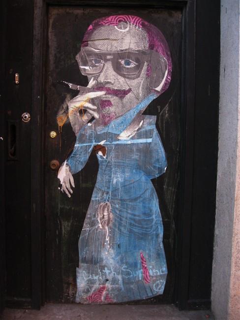 Street Art Par Judith Supine - New York City (NY)