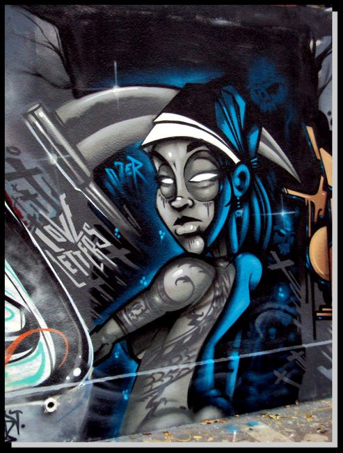 Fresques Par Ozer - Paris (France)