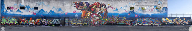 Fresques Par Rime, Apex, Vogue, Chor Boogie, Neon, Jase, Estria, Bam - Miami (FL)